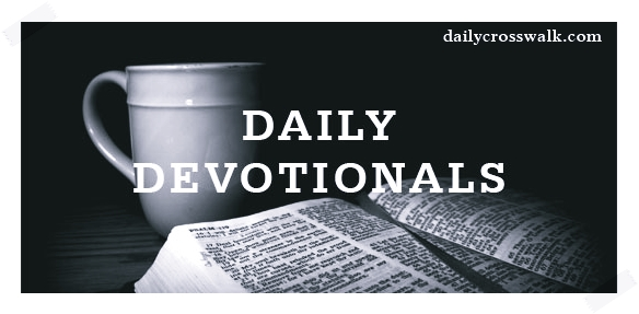 daily cross walk devotional