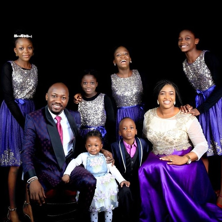 apostle johnson suleman and family