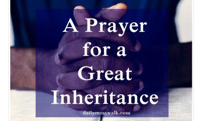 prayer for inheritance