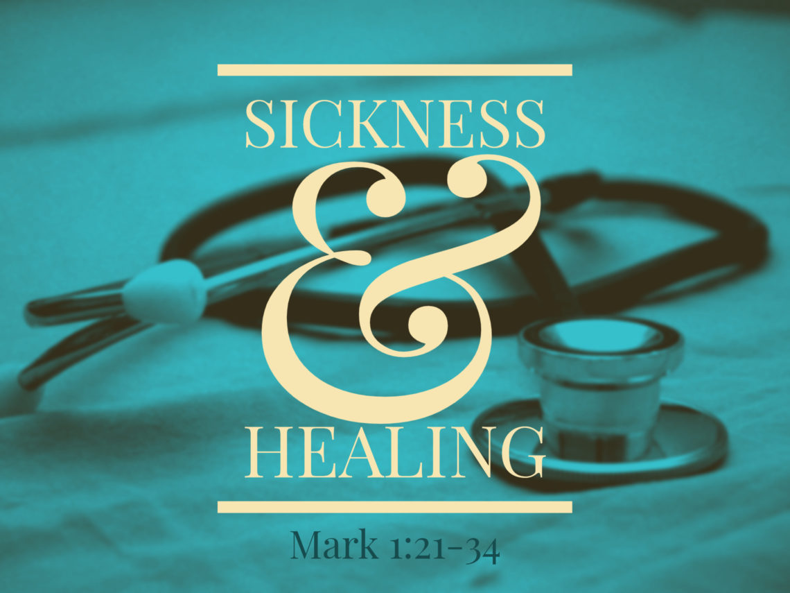 what the bible declares concerning sickness and healing.